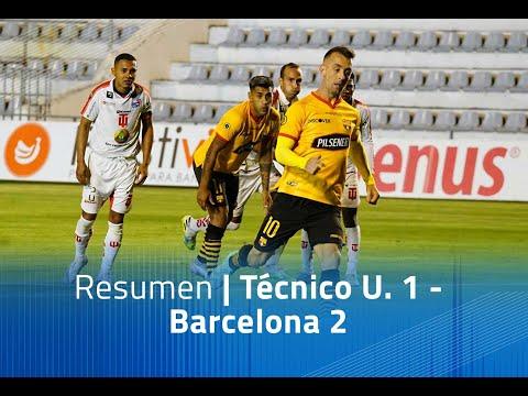 Tecnico U. Barcelona SC Goals And Highlights