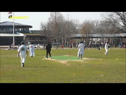 SALMAN Sarfaraz bowling spell Marine Park, Brooklyn , NY April 14, 2018