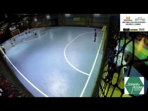 Warrix Samba De Futsal League 2014 - Gameweek 1 : Black United 7 - Goreng Fc 5