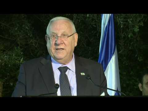 President Rivlin addresses Egyptian national day reception hosted by Egypt's Ambassador to Israel