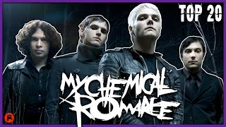 TOP 20 MY CHEMICAL ROMANCE SONGS