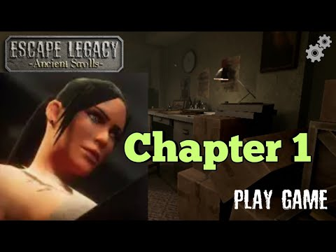 Escape Legacy 3D Chapter 1 Walkthrough   Escape Legacy Ancient Scrolls   Android Gameplay.