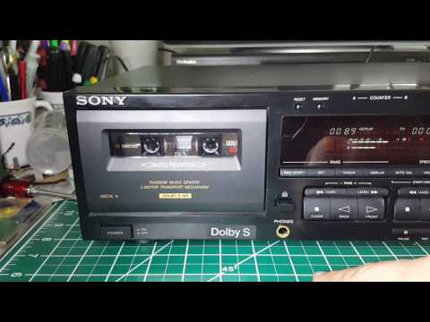 Sony TC-WR645S Dual Stereo Cassette Deck, HX Pro Dolby B-C and S Excellent JAPAN  On eBay