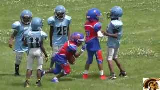 Westside Titans vs  Eastside Giants (D-Team) Game HIghlights (7-19-2015)