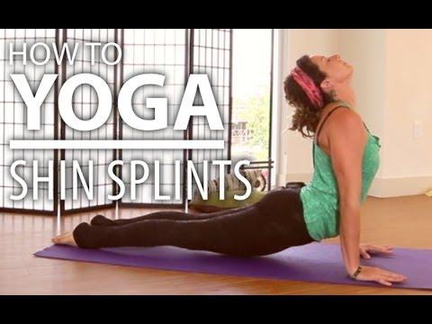 yoga for shin splints  10 minute leg stretch yoga for