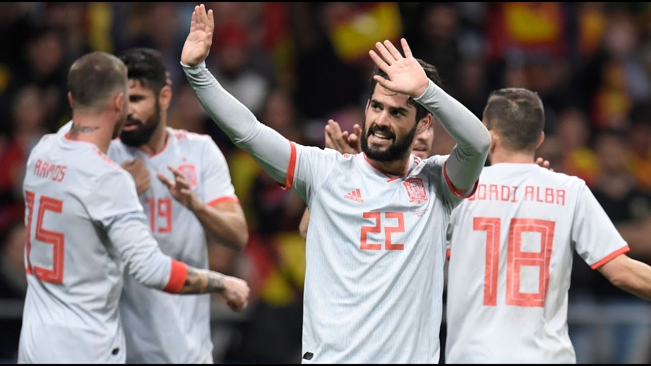 Download Spain vs Argentina 6-1 Friendly Match  All Goals & Extended Highlights 27/03/2018HD by SportsHunkTV