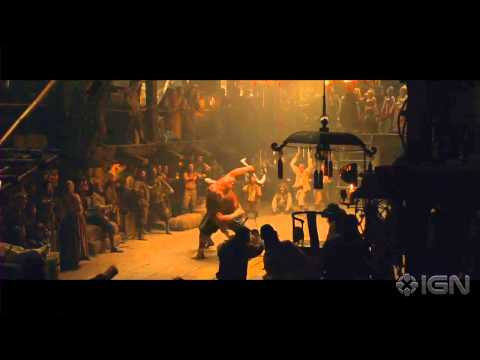 "47 Ronin - ""Oishi finds Kai fighting on the Dutch Island"" Clip"