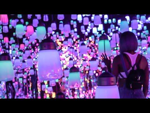 TOKYO'S 'DREAM WORLD' ART MUSEUM \\ JAPAN TEAMLAB PLANETS