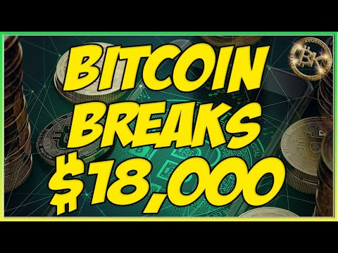 BITCOIN LIVE $18,000 BTC USD PRICE ANALYSIS 🚨 NOV 18 Cryptocurrency XRP Market News BK Crypto Trader
