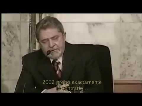 Lula Da Silva se emociona como Presidente de Brasil