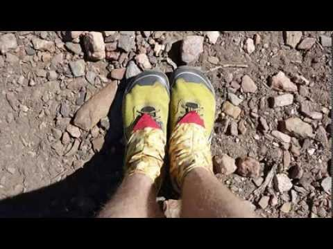 I thru-hiked the PCT and took a photo of my shoes every day. here's the video