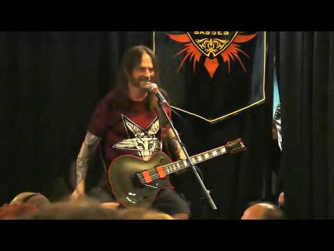 Gary Holtz of Slayer/Exodus at Rock City Music Store