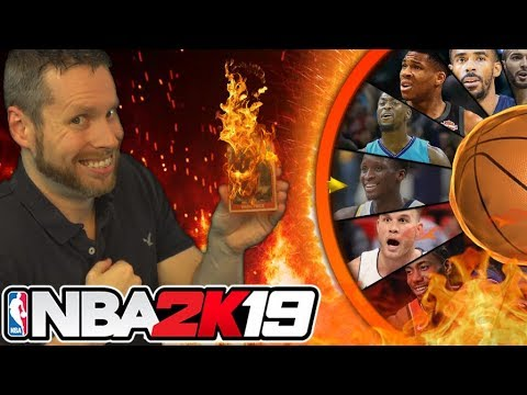 NBA 2K19 Wheel of Flaming Cards