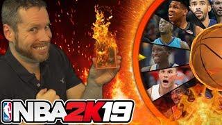 NBA 2K19 Wheel of Flaming Cards
