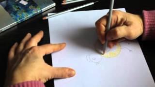 Урок 1. учимся рисовать цыплёнка