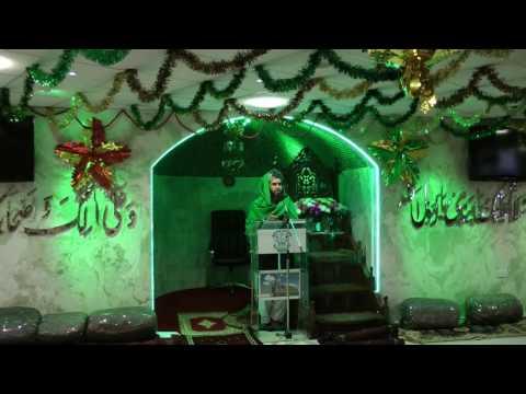 Mehfil Eid Milad ul Nabi   Bilal Jamia Masjid Newcastle upon Tyne 04 12 2016