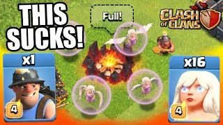 Clash Of Clans | THE IMMORTAL MINER SUCKS!!!!!!