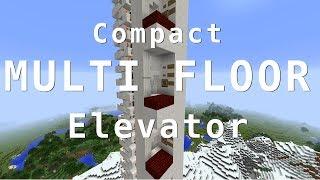 8 Floor Elevator - Minecraft 1.11+