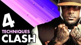 4 TECHNIQUES DE CLASH (ft Booba, MZ, Guizmo, 2Pac)