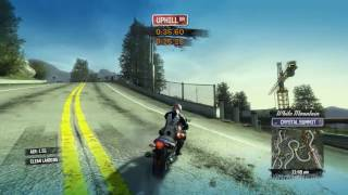 Burnout Paradise: The Ultimate Box – PC Walkthrough # 2 Bike race-1 {HD - 60fps}