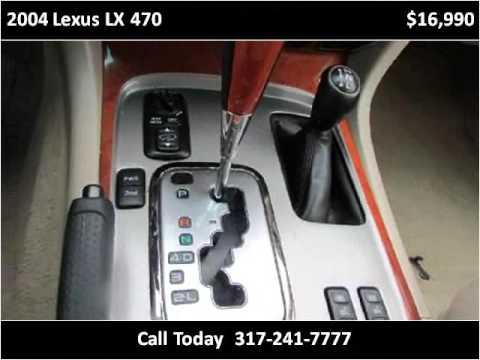2004 Lexus LX 470 Used Cars Indianapolis IN