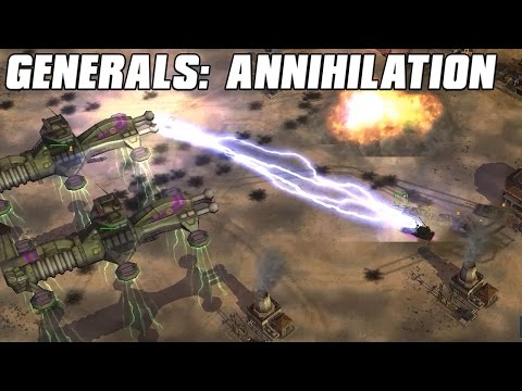 Generals: Annihilation - TESLA SUPER WEAPONS