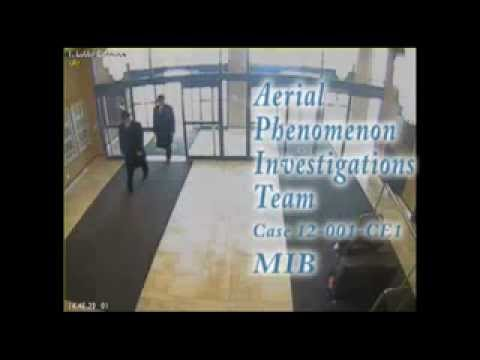 The real Men in Black caught on tape?