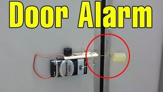 Make a Cool Door Alarm Anti Theft at home | Funny Ideas