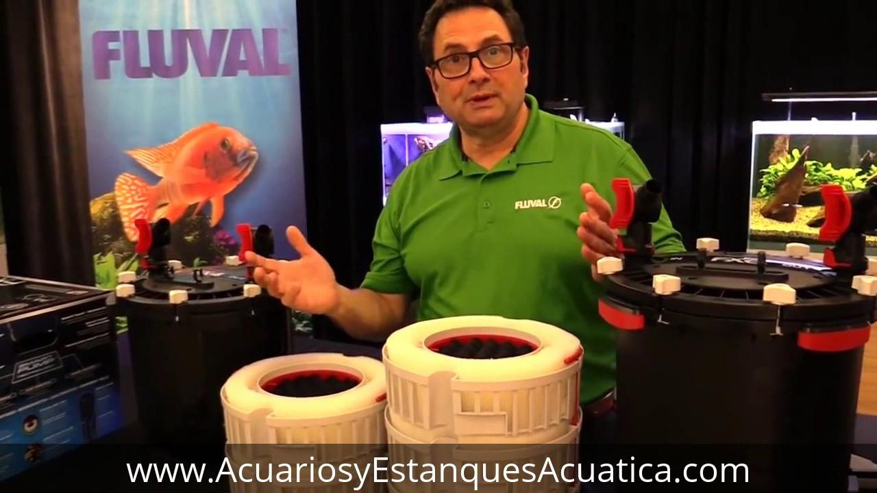 Fx6 >> HAGEN FLUVAL FX4 Y FX6 FILTROS PARA ACUARIOS - YouTube