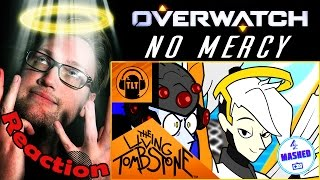 """No Mercy"" Overwatch Song by The Living Tombstone (ft. BlackGryphon & LittleJayneyCakes) REACTION!"