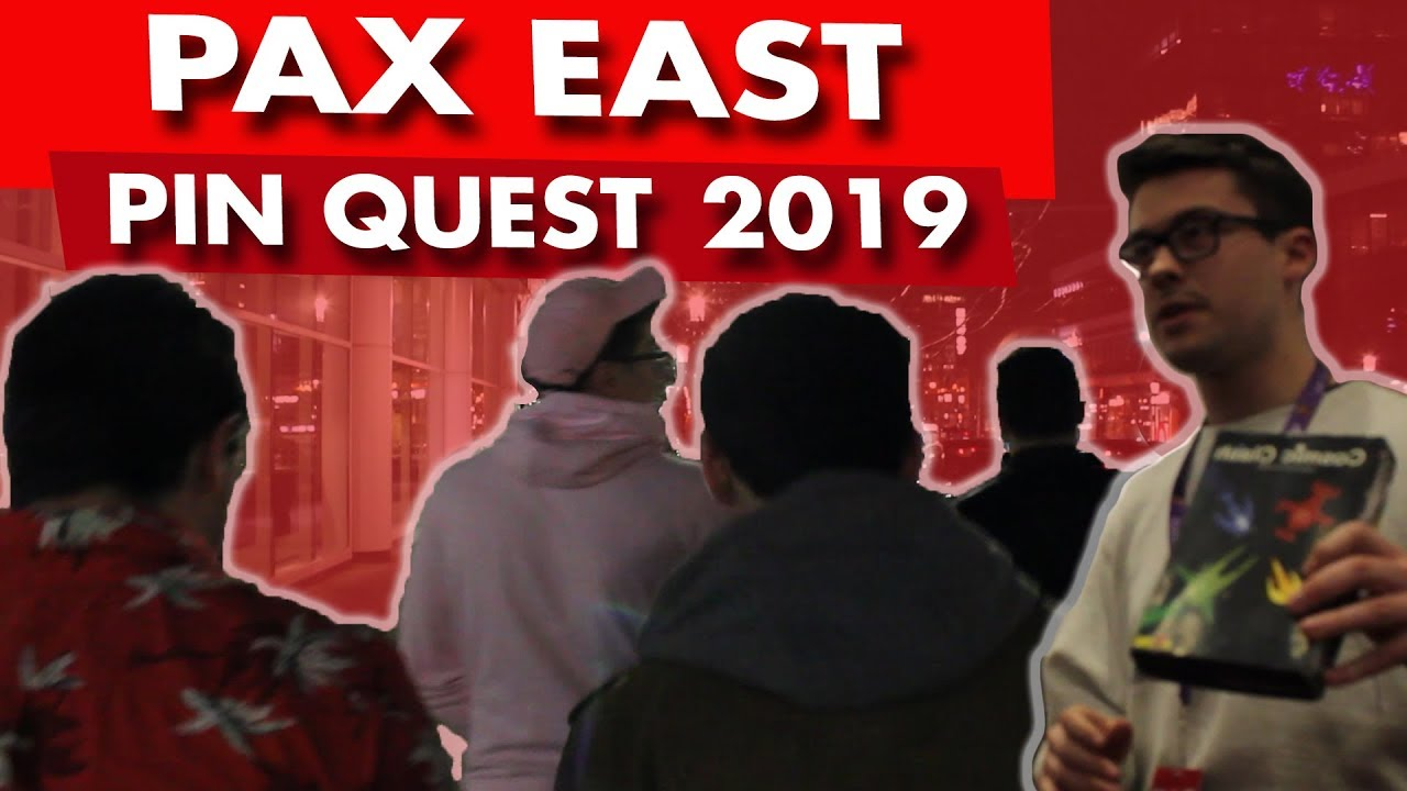 195e66416ed1 PAX EAST 2019 PIN QUEST VLOG - DAY 2 - PART 2 - YouTube