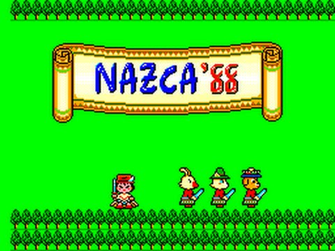 Master System Longplay [154] Nazca '88: The Golden Road to Paradise (FM) (Aztec Adventure)