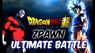 ZPAWN - ULTIMATE BATTLE - (JIREN Texto ROJO y GOKU Texto AZU...