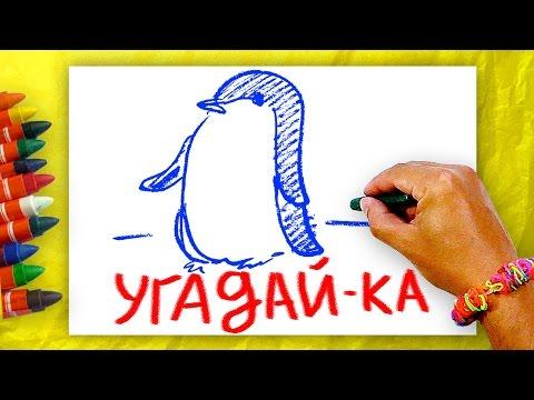 Загадки для детей, Угадай-ка? Загадки про птиц + Урок рисования для детей