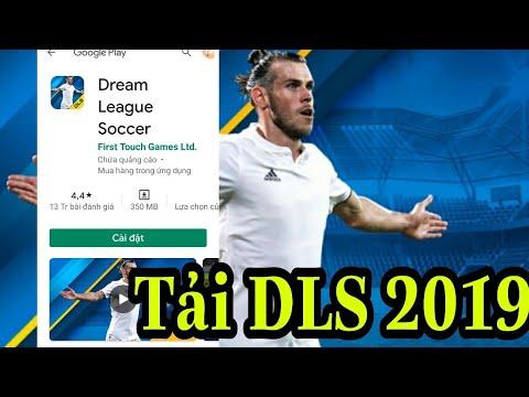 Hướng dẫn tải lại bản Dream league soccer 2019