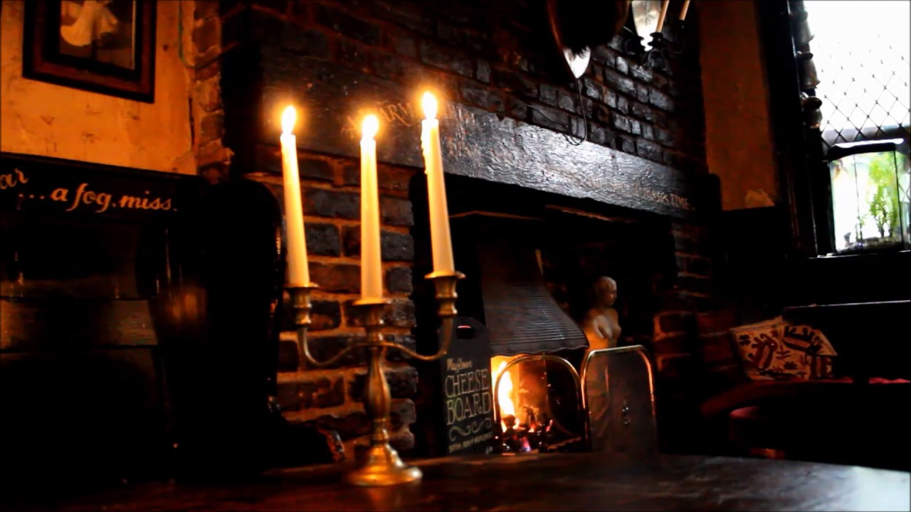 open fireplace in the pub youtube