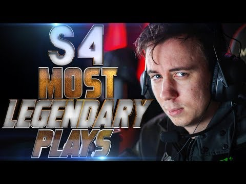 The Legend Returns! S4 Back To ALLIANCE - MOST LEGENDARY Moments Of S4 - Dota 2