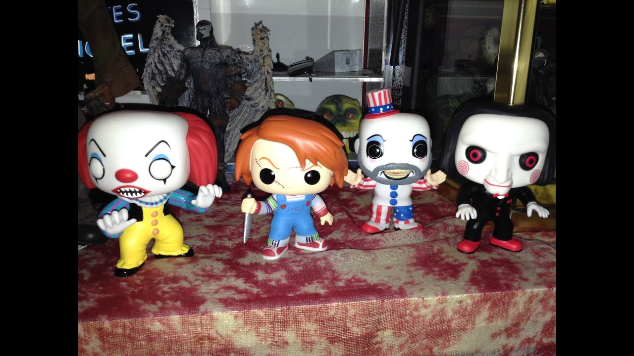 New Horror Pop Figures From Funko Youtube