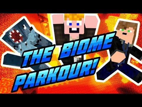 Minecraft - The Biome Parkour!  [EGY JÓ KIS PAKROUR MINDIG JÓ!]