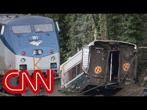 Amtrak derailment: Listen to conductor