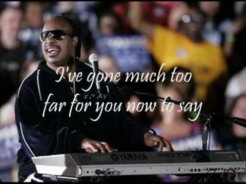 STEVIE WONDER - OVERJOYED (with lyrics) mp3