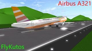 ECONOMIA Volo FlyKutos Airbus A321 Roblox