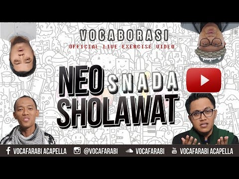Neo Sholawat - SNADA ( Vocafarabi Live Cover at Muslim Records )