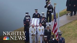 Nations Bids Final Farewell To President George H.W. Bush | NBC Nightly News