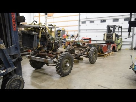 Submarine Willys Jeep Restomod - 2 - Teardown