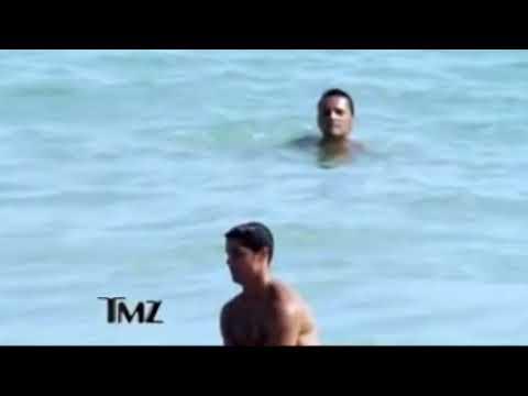 Рональдо на море секс