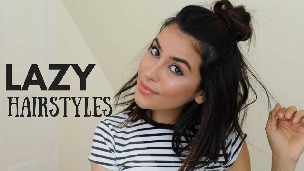 cute lazy day hairstyles heat