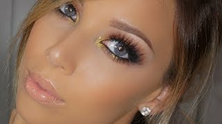 Smokey Eye with a Pop of Gold! Thumbnail