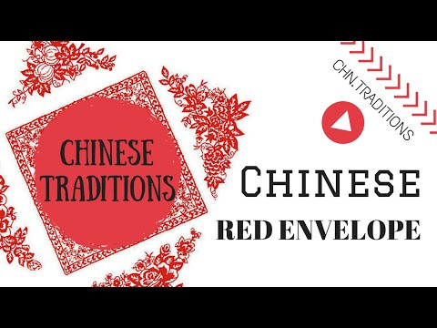 Chinese traditions chinese red envelope