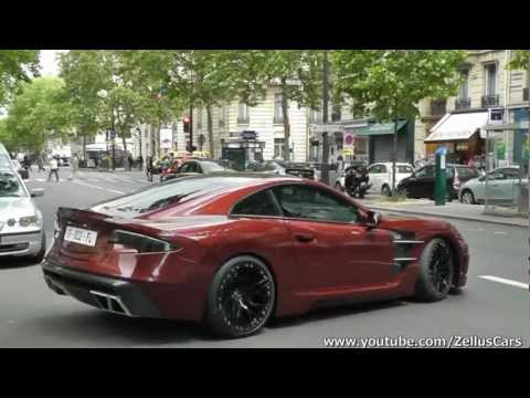 Rare Carlsson C25 Royale on the road in Paris !! ( 753hp )